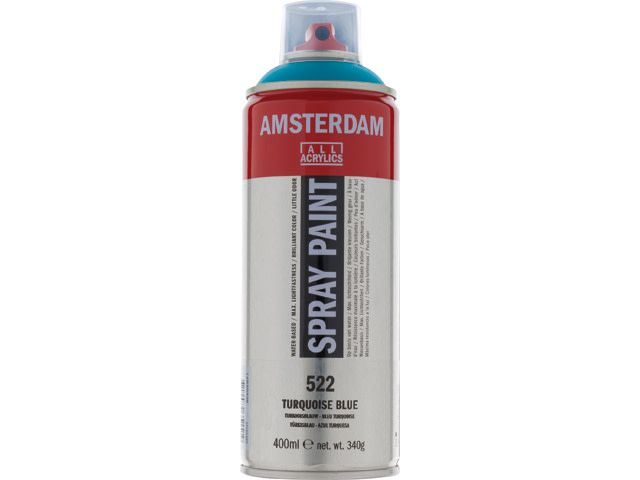 Talens spray 400ML  Turkooisblauw