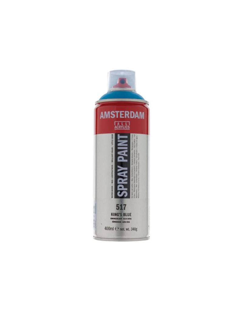 Talens Amsterdam acrylverf spray 400ML  Koningsblauw