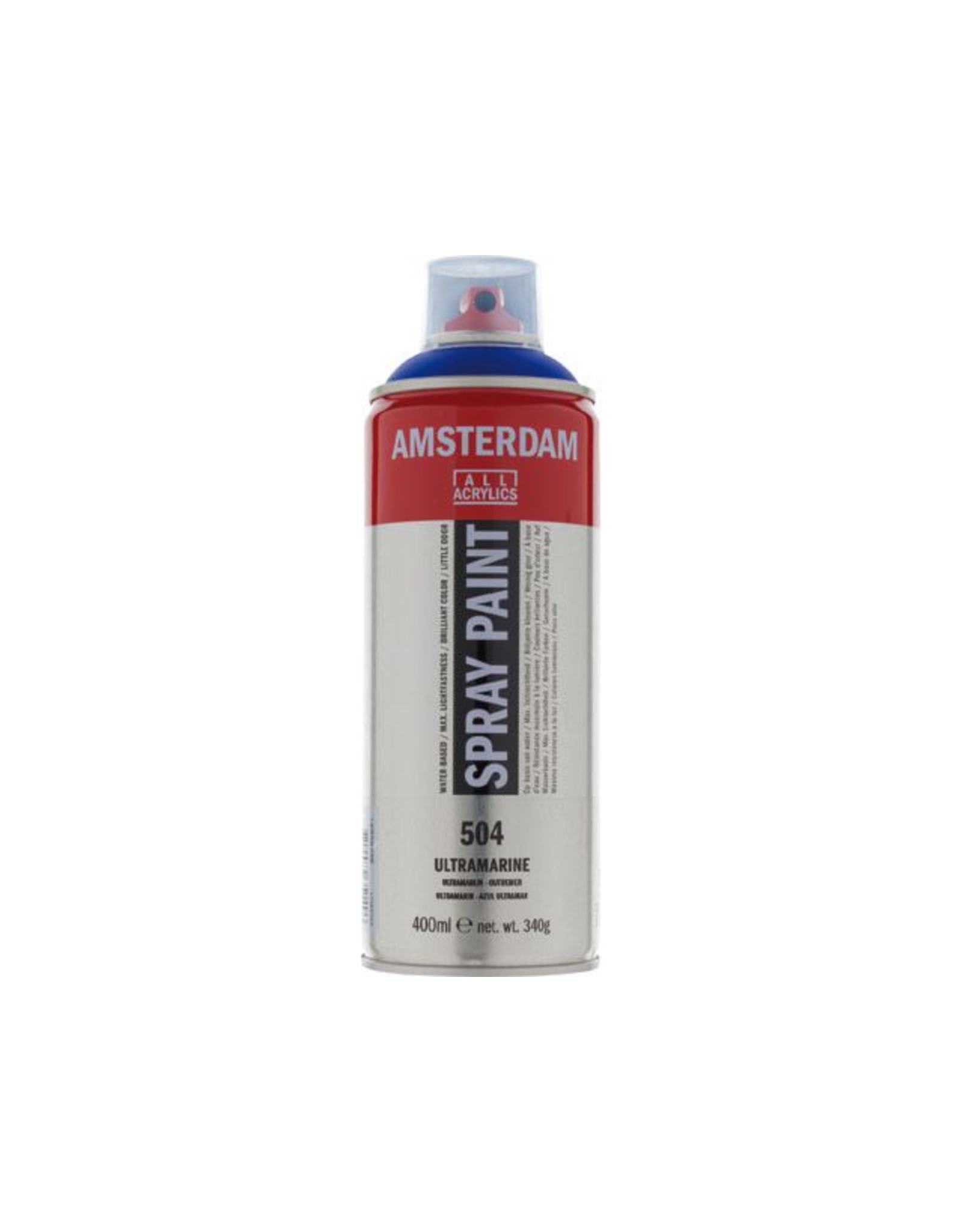 Talens spray 400ML  Ultramarijn