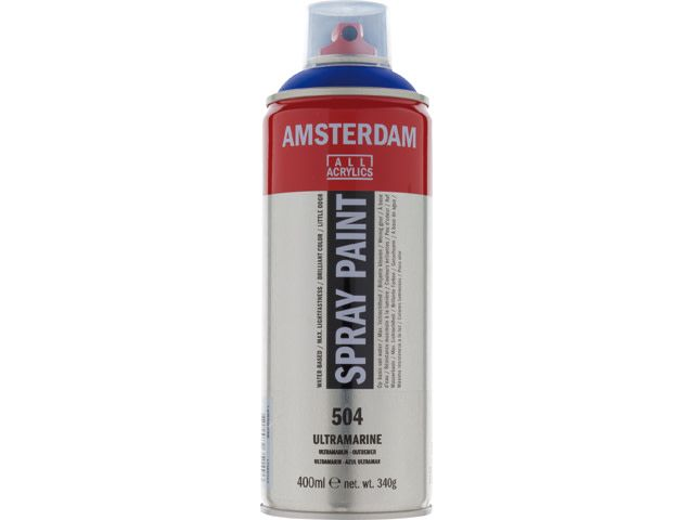 Talens spray 400ML  Ultramarijn
