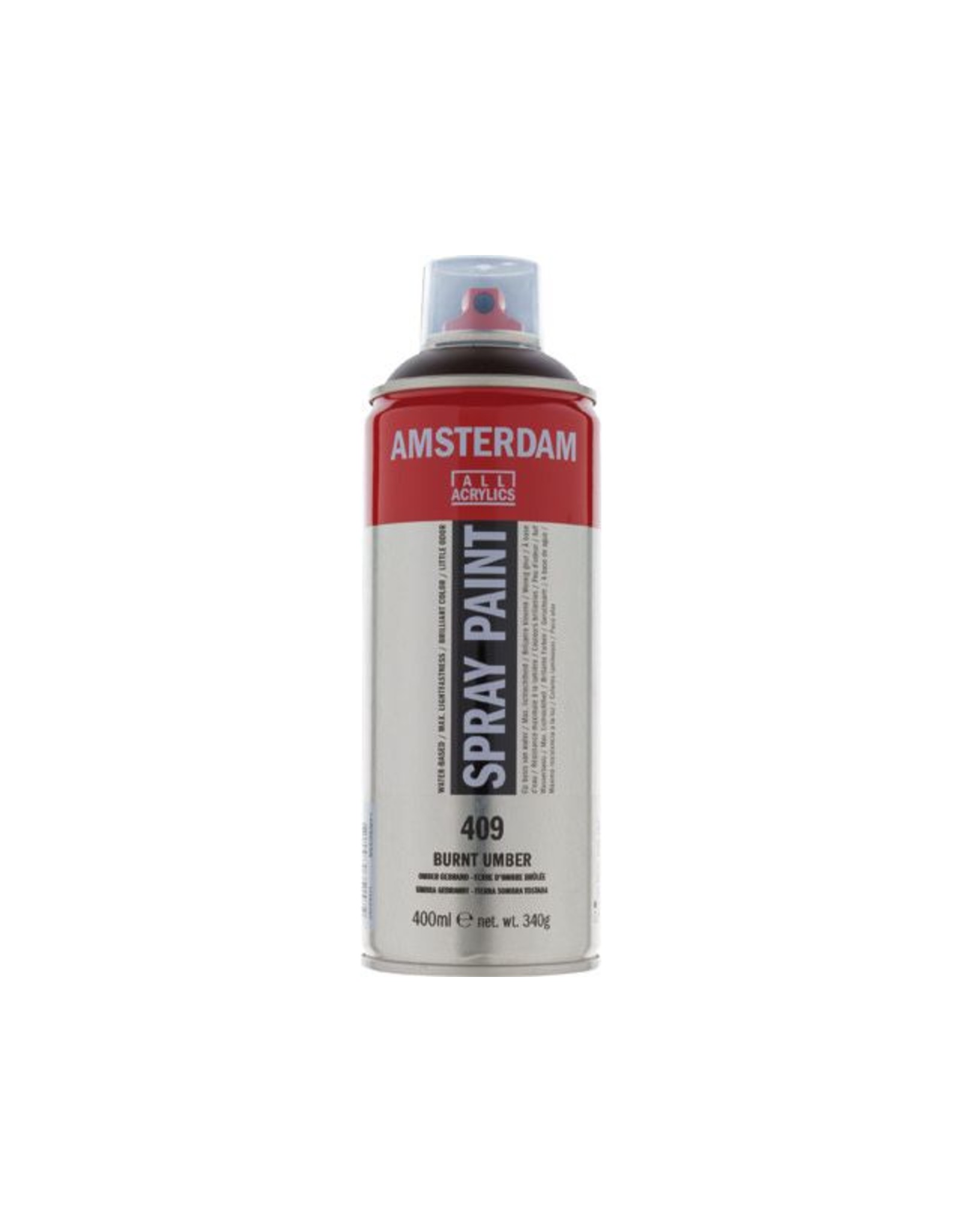 Talens spray 400ML  Omber gebrand