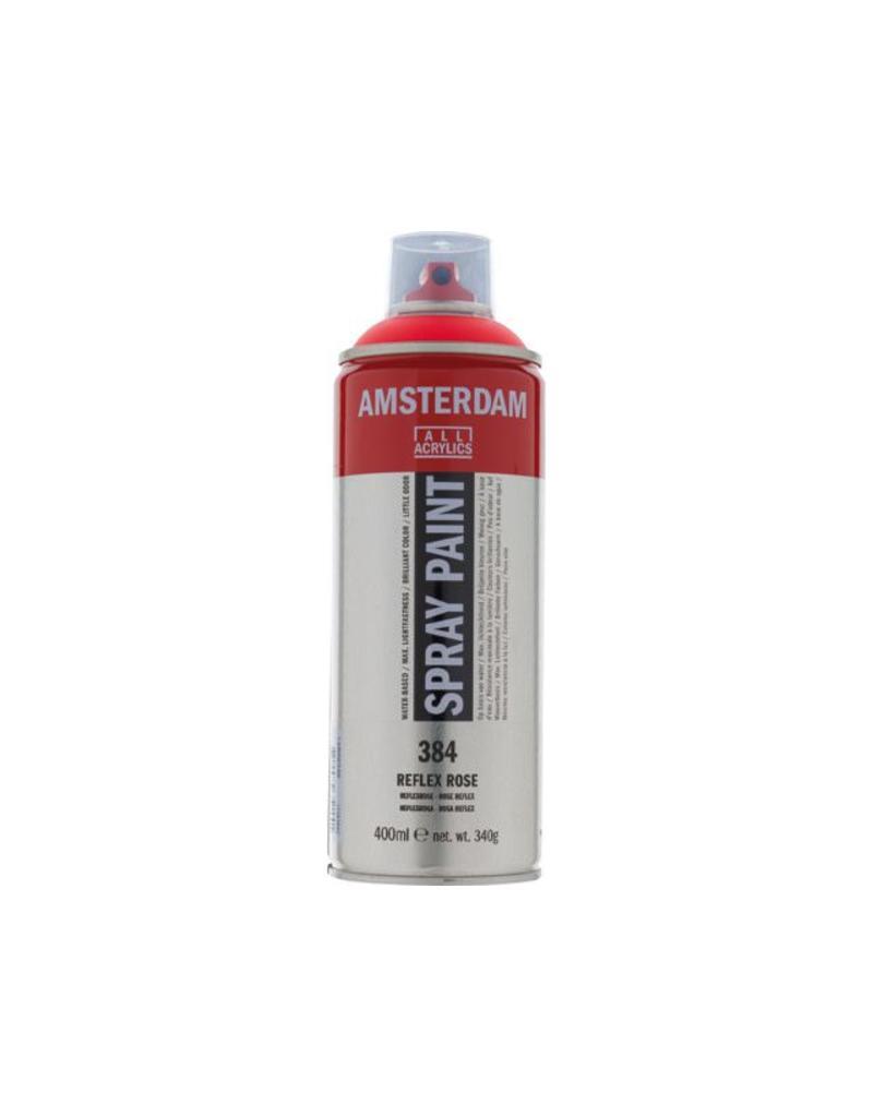 Talens Amsterdam acrylverf spray 400ML  Reflexrose