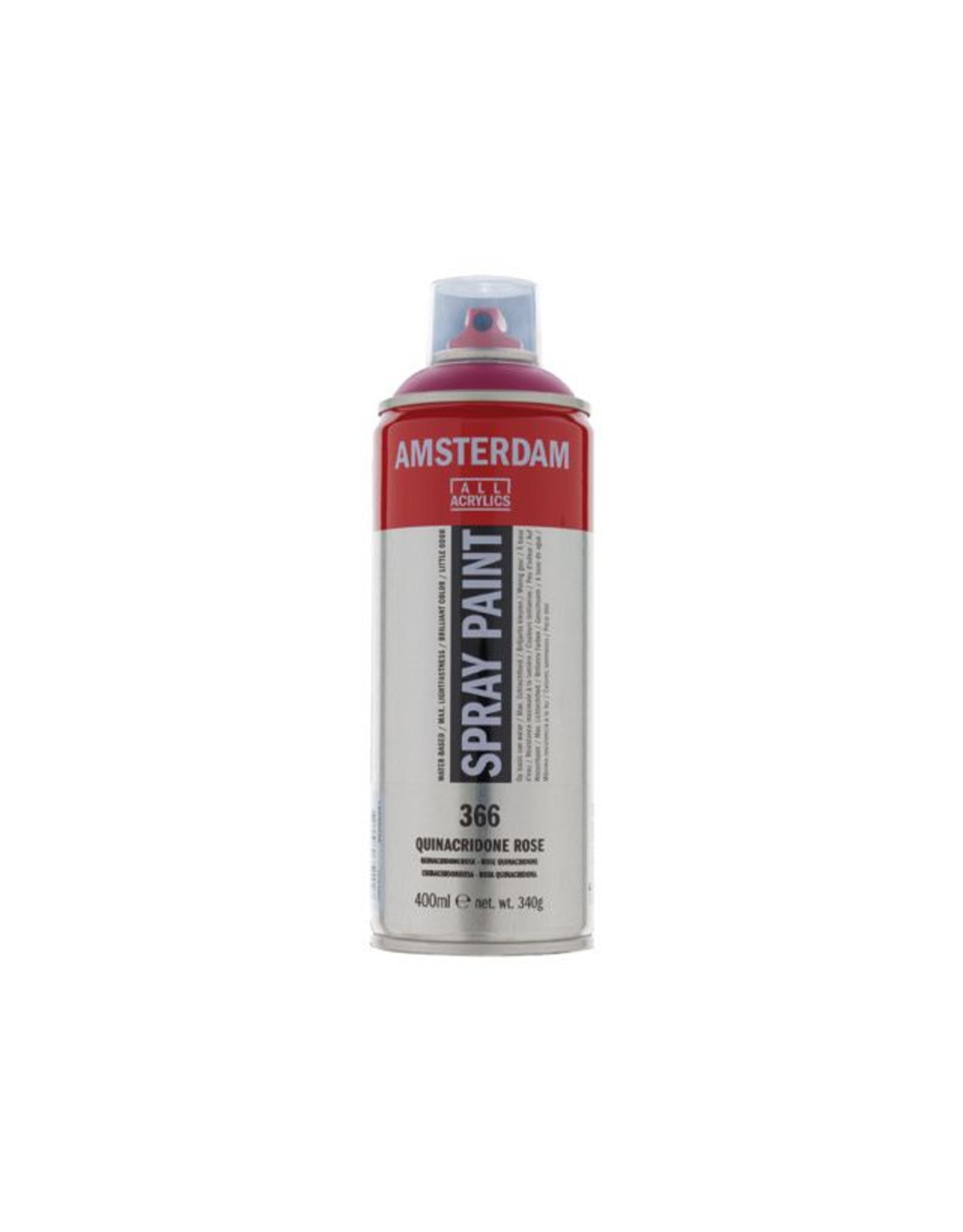 Talens spray 400ML  Quinacridonerose