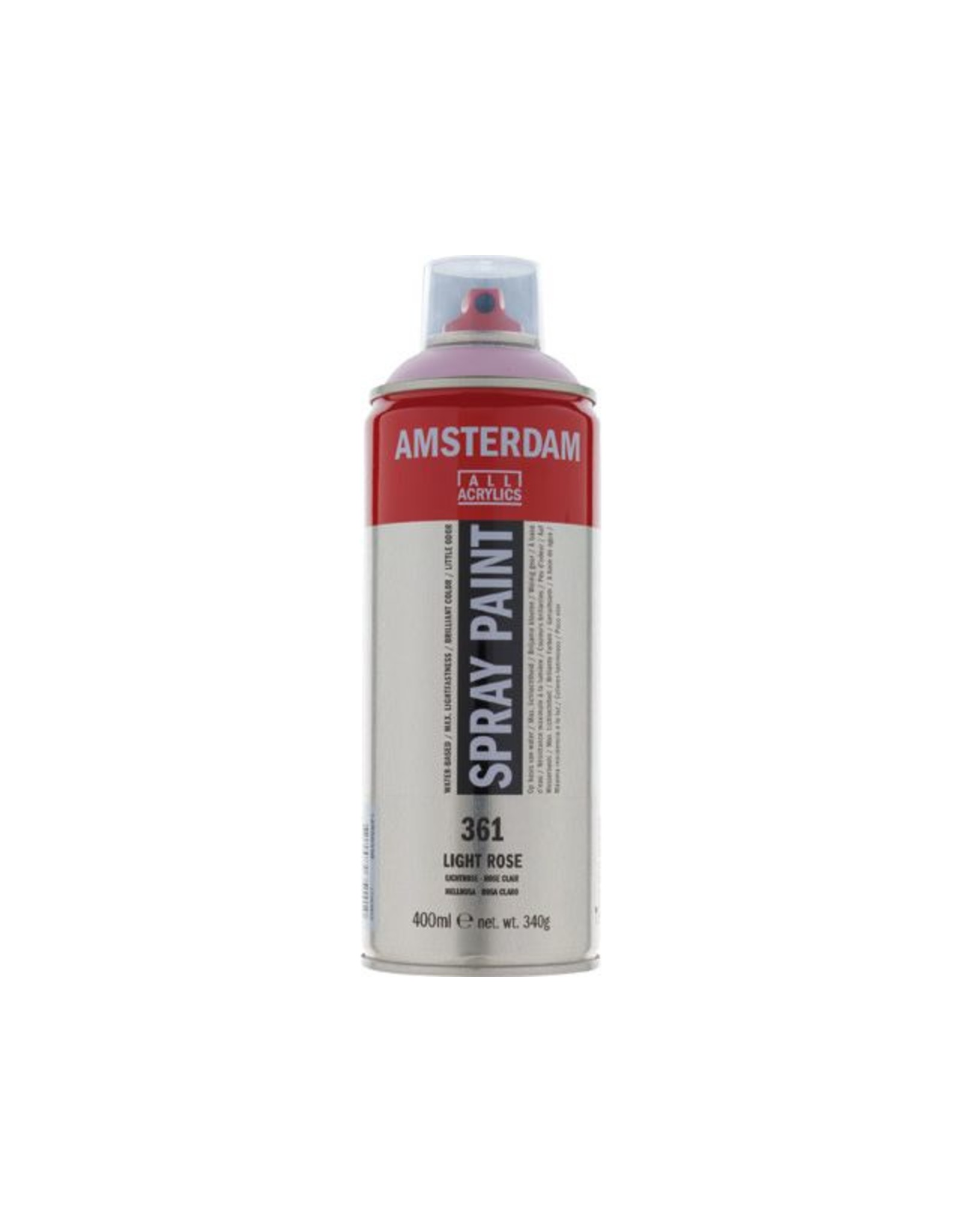 Talens spray 400ML  Lichtrose