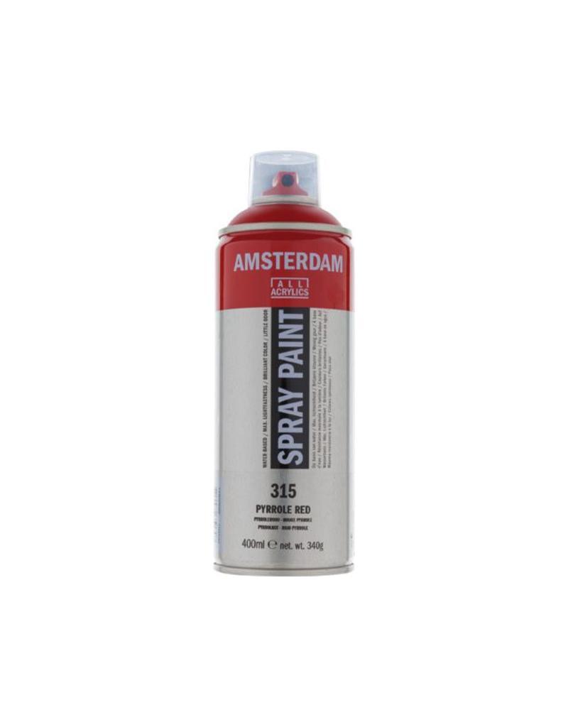Talens Amsterdam acrylverf spray 400ML  Pyrrolerood