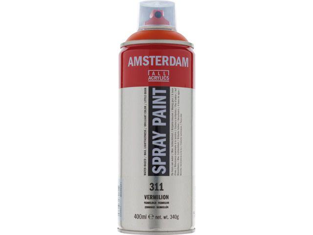 Talens spray 400ML  Vermiljoen