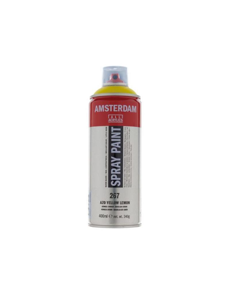Talens Amsterdam acrylverf spray 400ML  Azogeel citroen