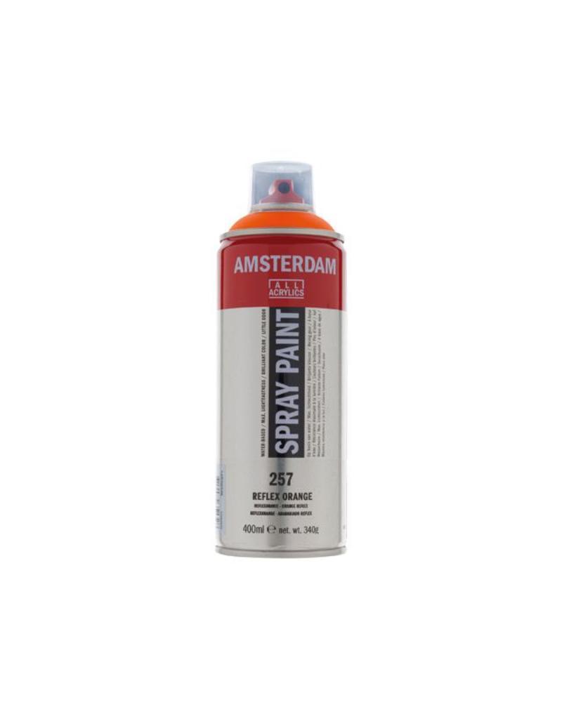 Talens Amsterdam acrylverf spray 400ML Reflexoranje