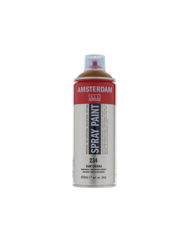 Talens Amsterdam acrylverf spray 400ML Sienna naturel