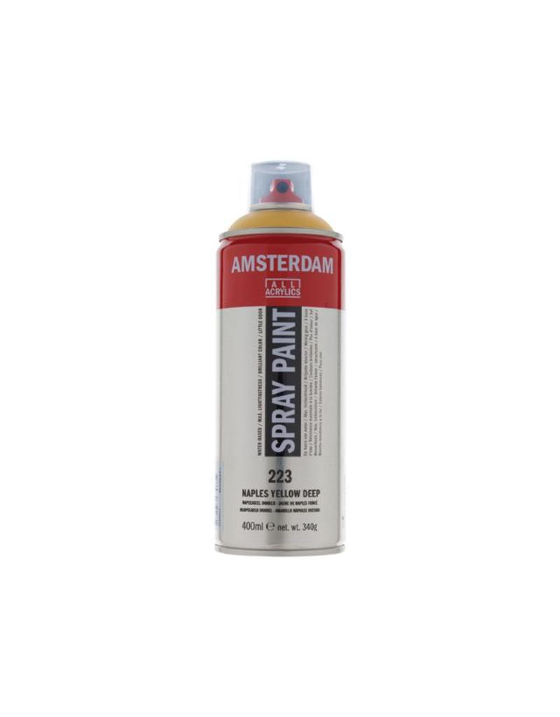 Talens Amsterdam acrylverf spray 400ML Napelsgeel donker