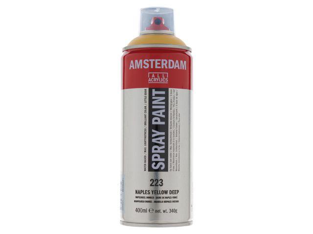 Talens spray 400ML Napelsgeel donker