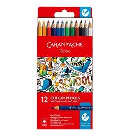 School line colour pencils 10st.