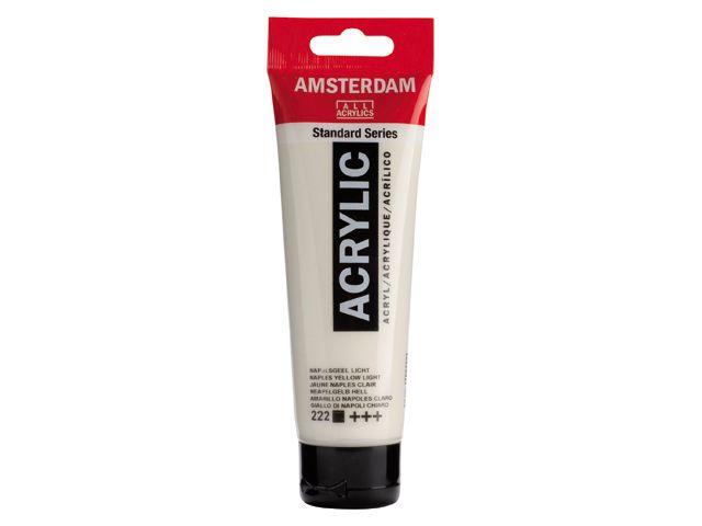 Talens Amsterdam acrylverf Napelsgeel licht 120ML