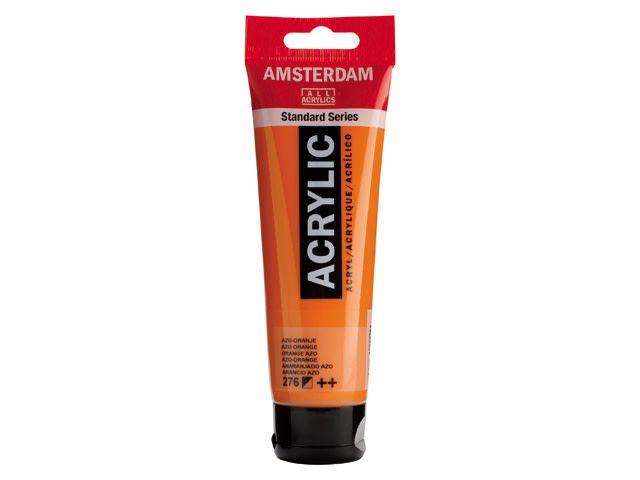 Talens Amsterdam acrylverf Azo-oranje 120ML