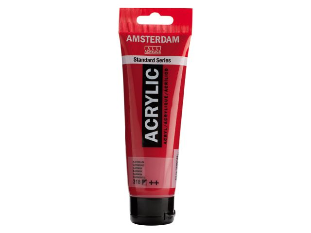 Talens Amsterdam acrylverf Karmijn 120ML