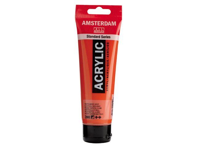 Talens Amsterdam acrylverf Naftolrood licht 120ML