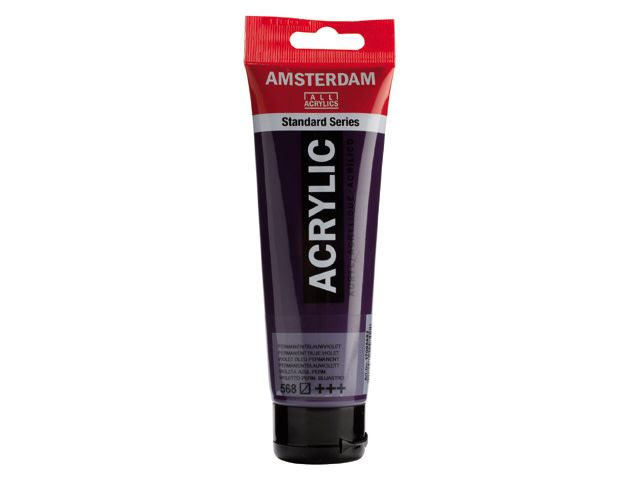 Talens Amsterdam acrylverf Perm. blauwviolet 120ML