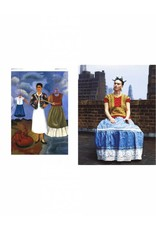Frida Kahlo - Making her self up