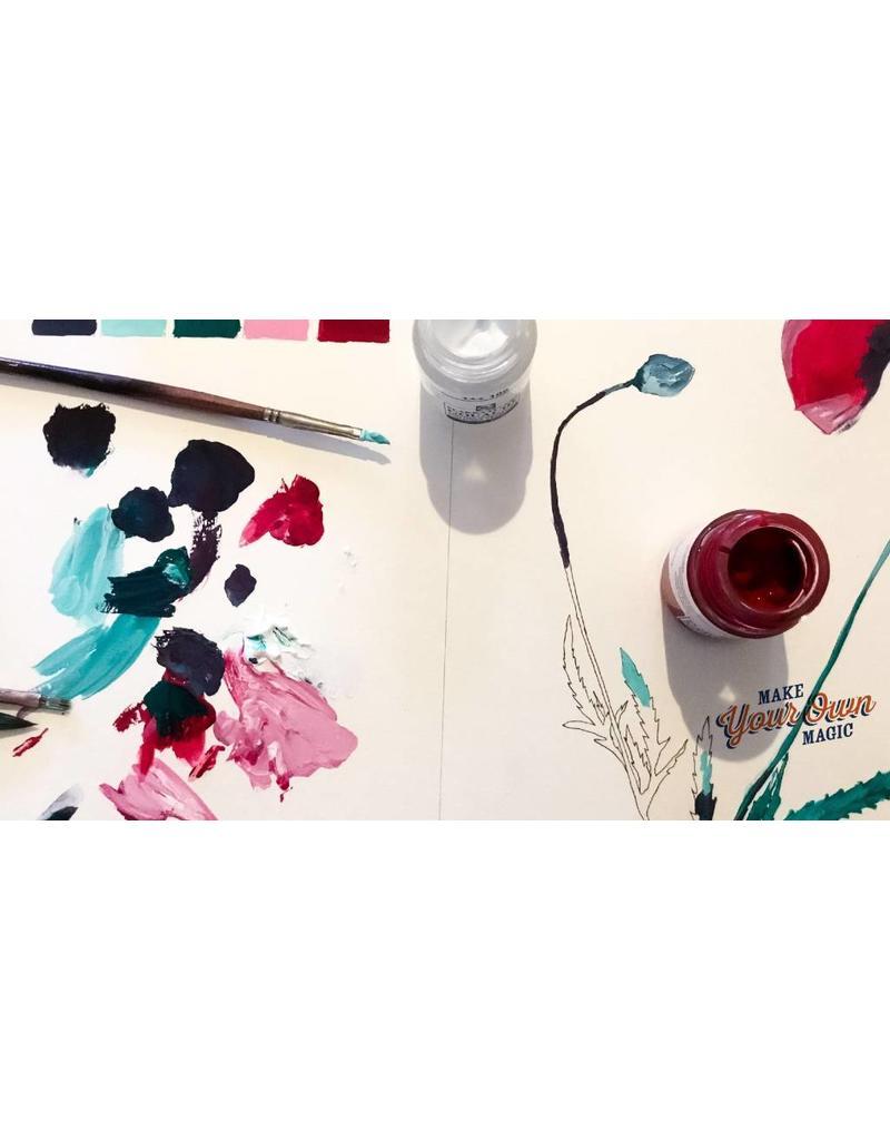 Zaterdag 17/11 van 10u30 tot 13u Hoe maak ik een tekening adhv een foto  in aquarel