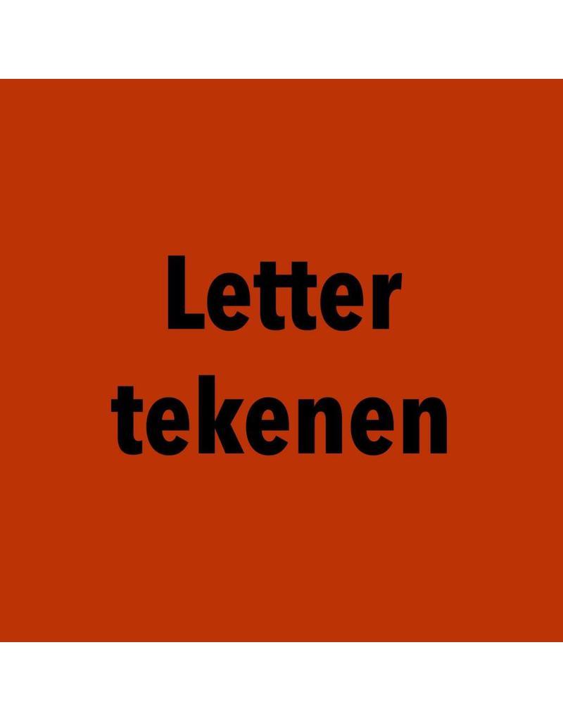 dinsdag 20/11 van 19u30 tot 21u30 Letter tekenen