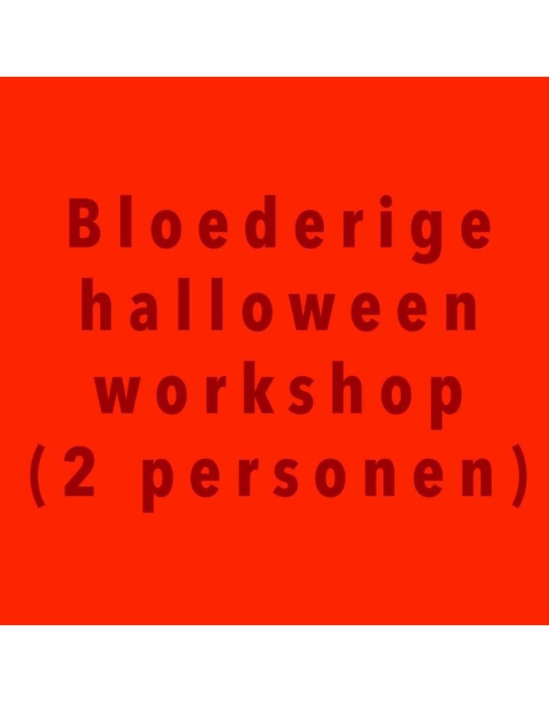 Zaterdag 27/10 van 14u tot 16u bloederige workshop