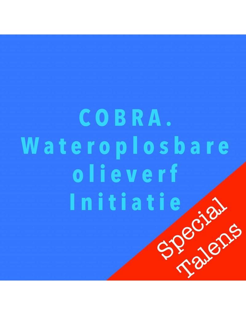 Zaterdag 8/12 Cobra wateroplosbare olieverf
