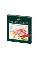 Faber Castell Studiobox 12 Pitt Artist brush pens