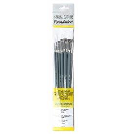 Set brushes  acrylic