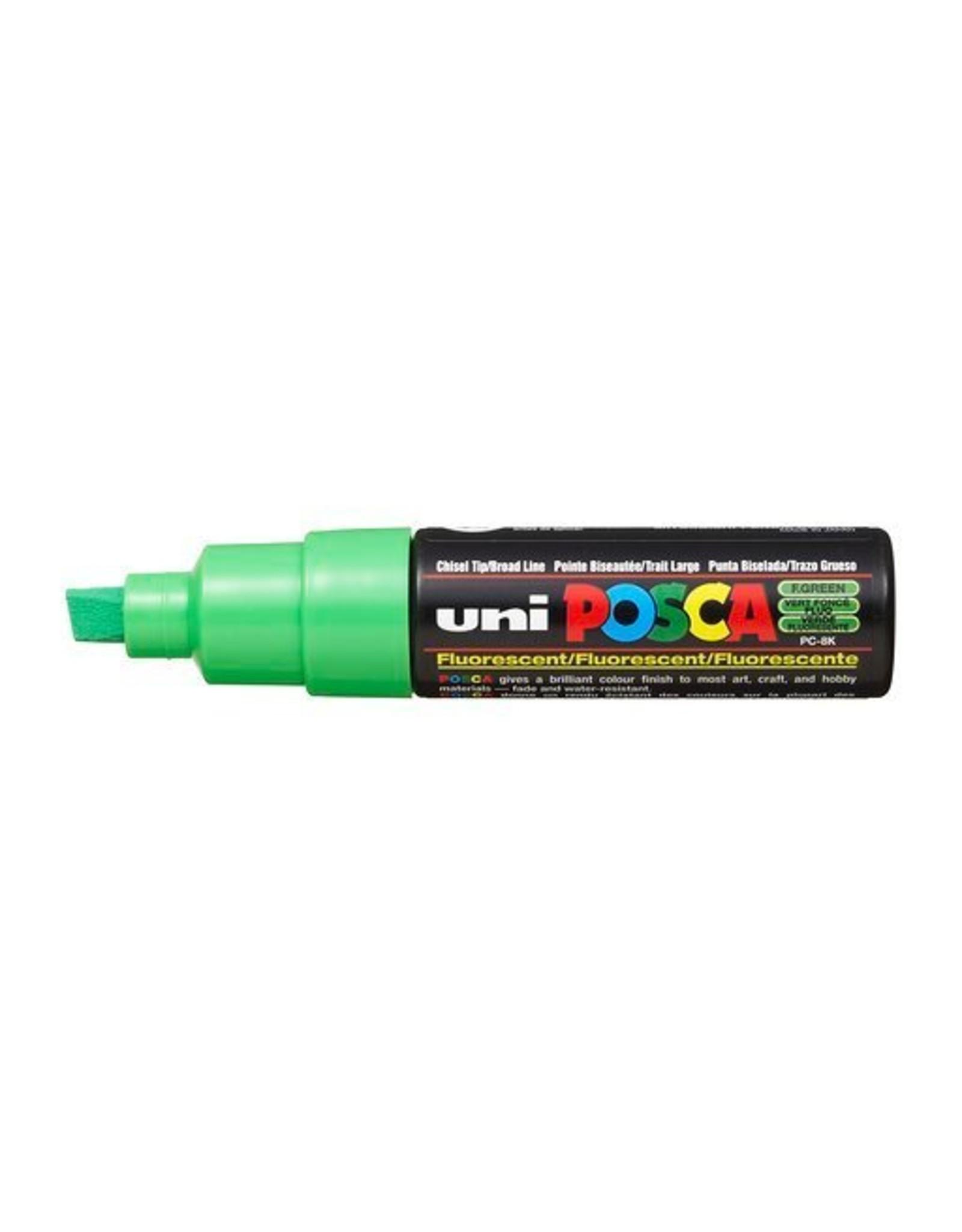 UNI POSCA PC8K Fluo Groen