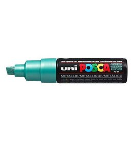 UNI POSCA PC8K Metallic Groen