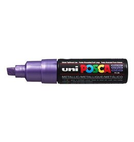 UNI POSCA PC8K Metallic Violet
