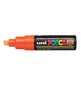 UNI POSCA PC8K Fluo Oranje