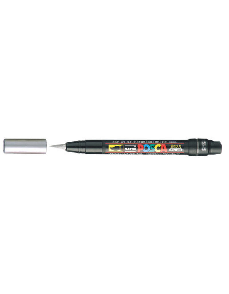 UNI POSCA PCF350 Zilver