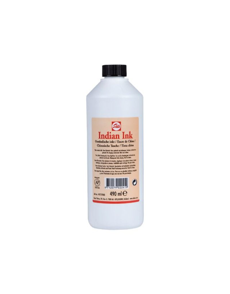 Talens Oostindische inkt fles 490ML