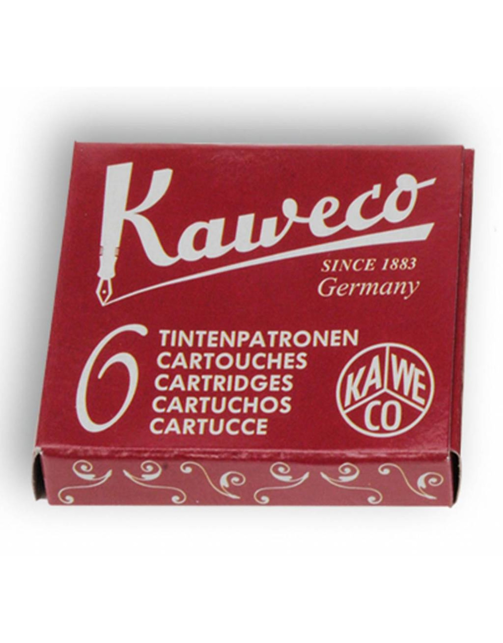 Kaweco vulpen vullingen (6) ruby red