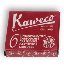 Kaweco vulpen vullingen 6 ruby red