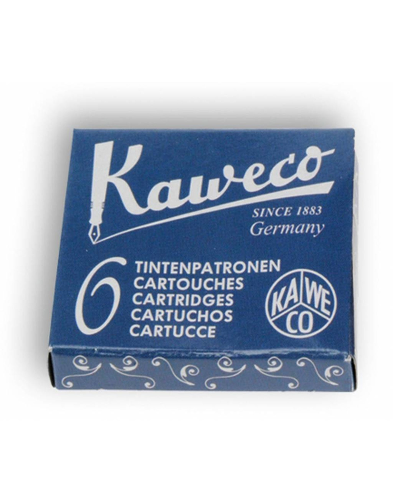 Kaweco vulpen vullingen (6) midnight blue