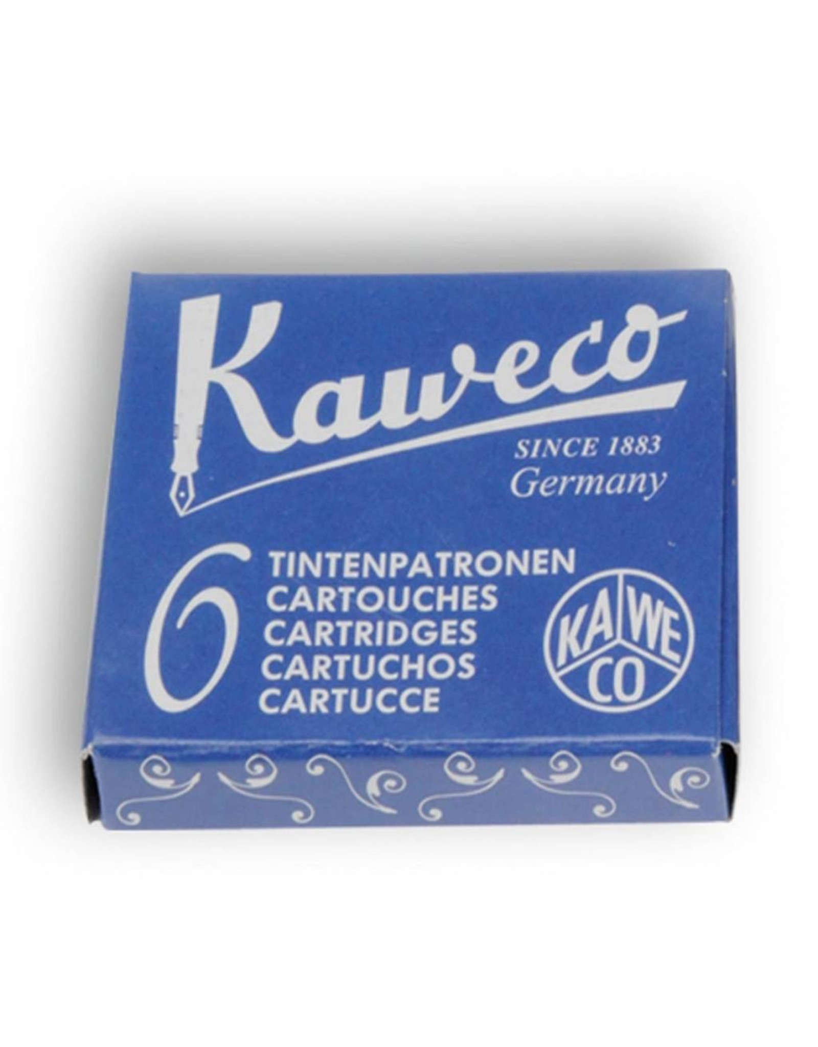 Kaweco vulpen vullingen (6) royal blue