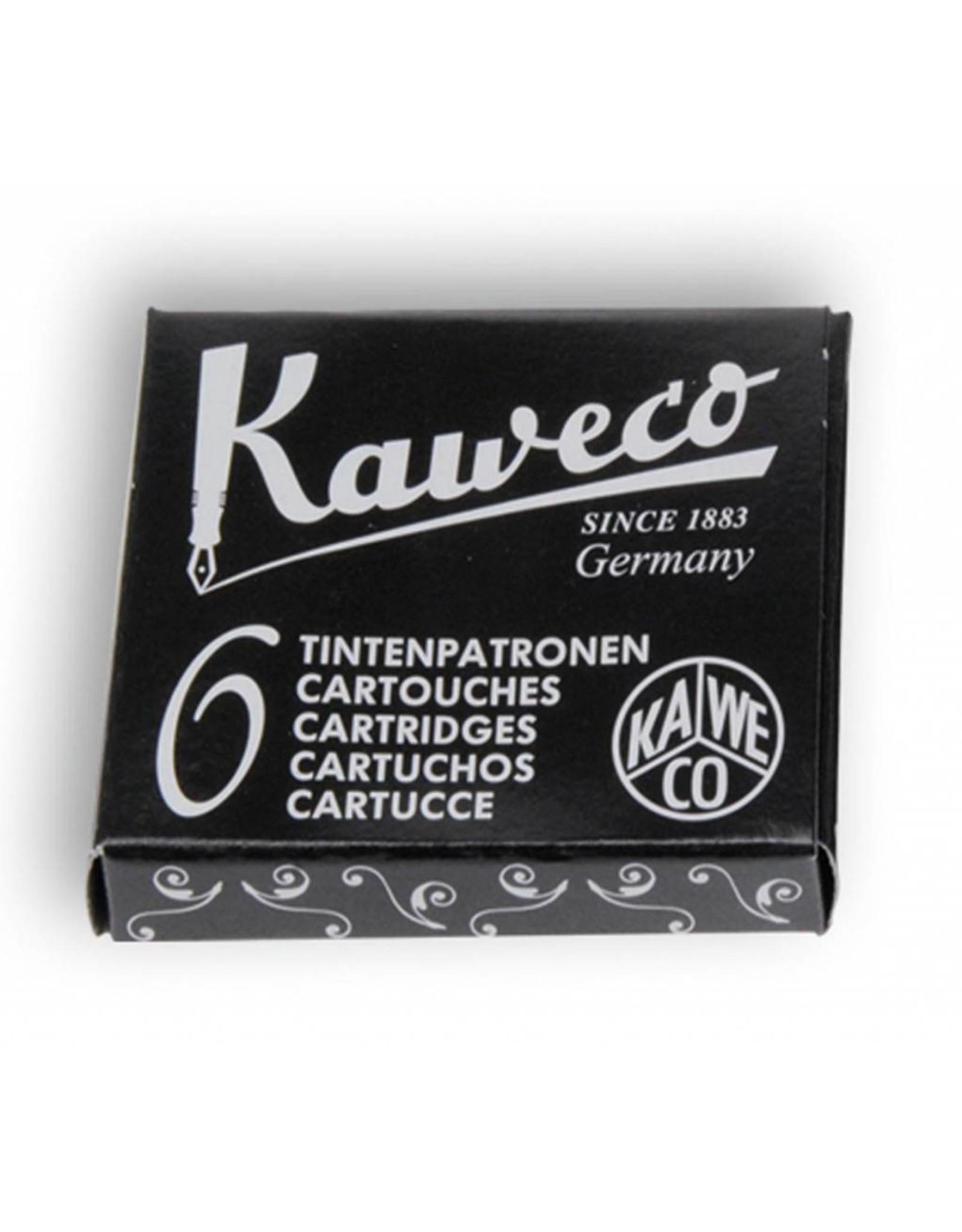 Kaweco vulpen vullingen (6) pearl black