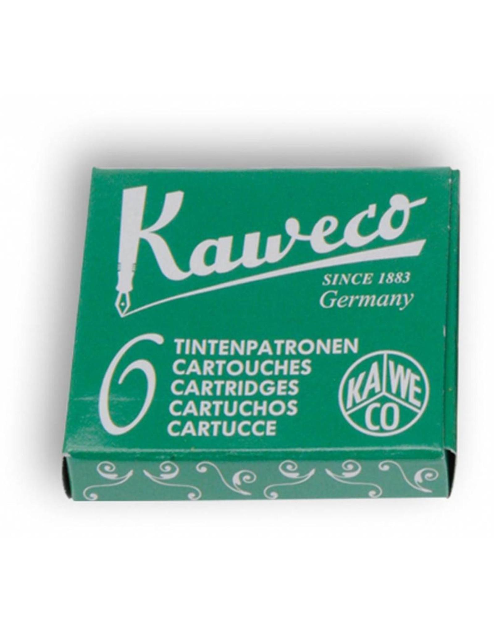 Kaweco vulpen vullingen (6) palm green