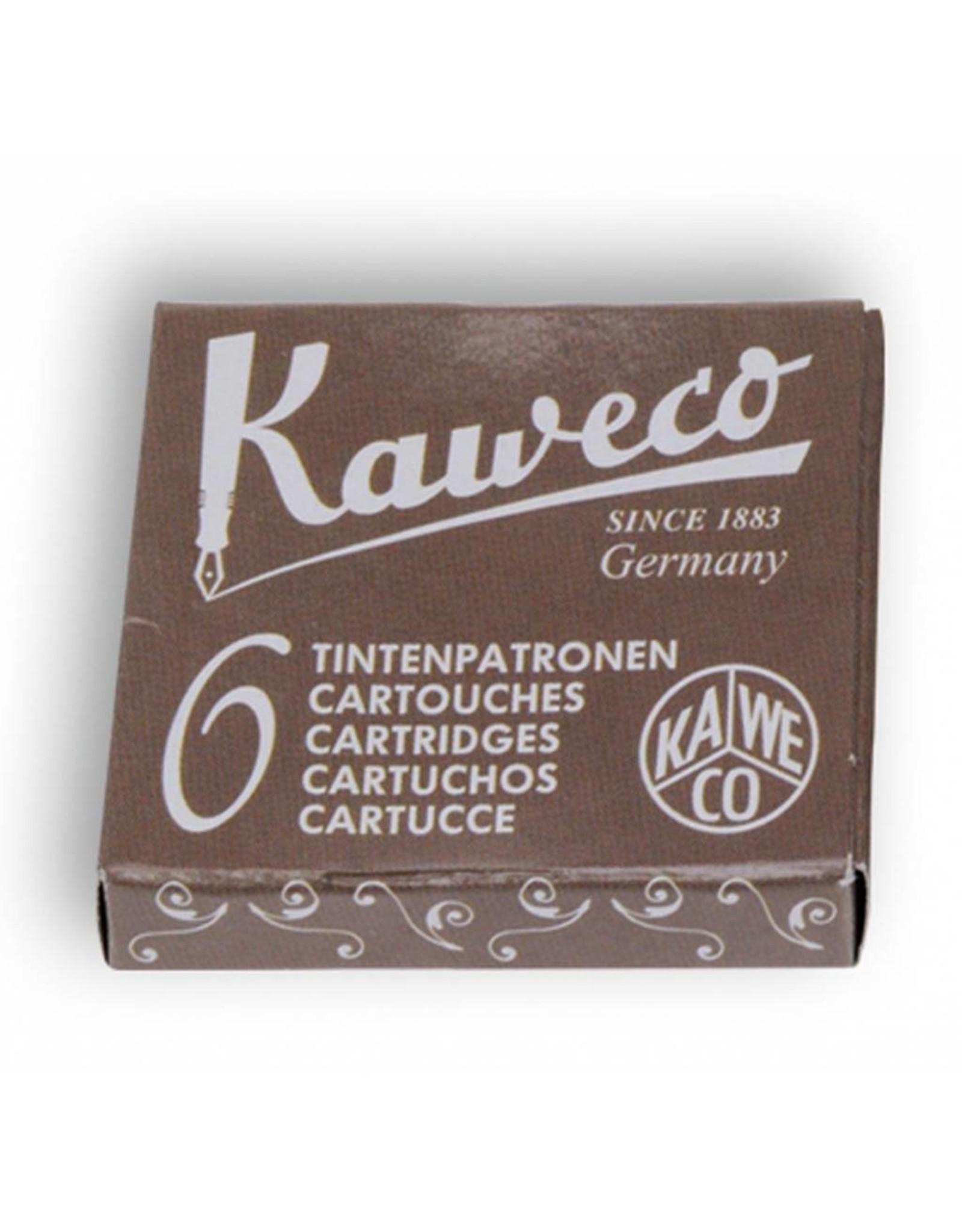 Kaweco vulpen vullingen (6) caramel brown