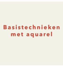 Zaterdag 19/10 van 10.30u tot 13u - Basistechnieken met aquarel