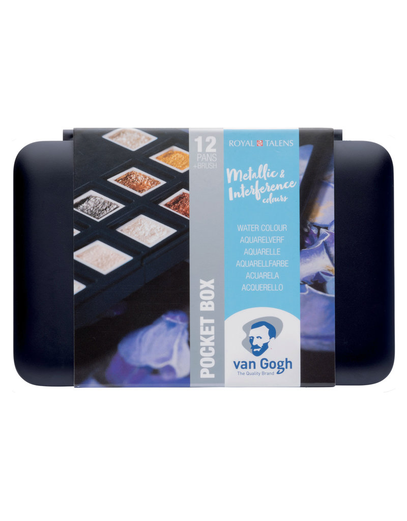 Van Gogh pocket box metallic & interference