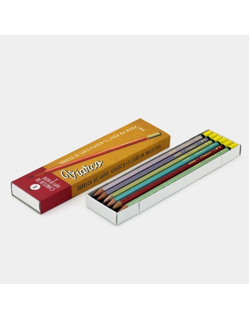 Viarco Vintage collection pencils 2000 reissue