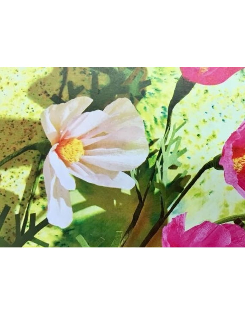 Duo-workshop papieren bloemen