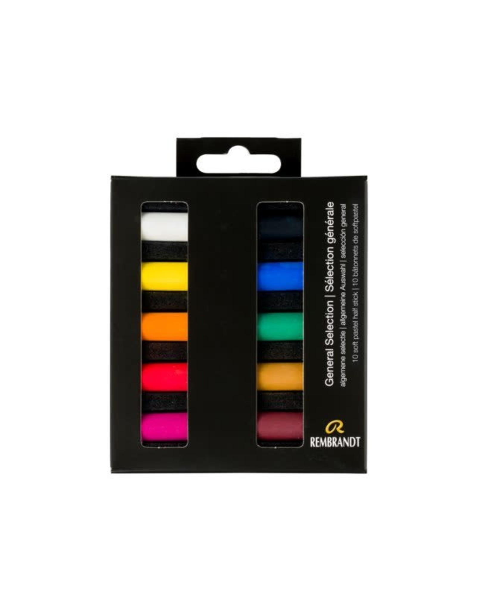 Rembrandt Rembrandt soft pastel algemene selectie set 10