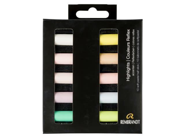 Rembrandt Rembrandt soft pastel accenten set 10