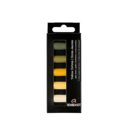 Rembrandt Yellow ochres set 5