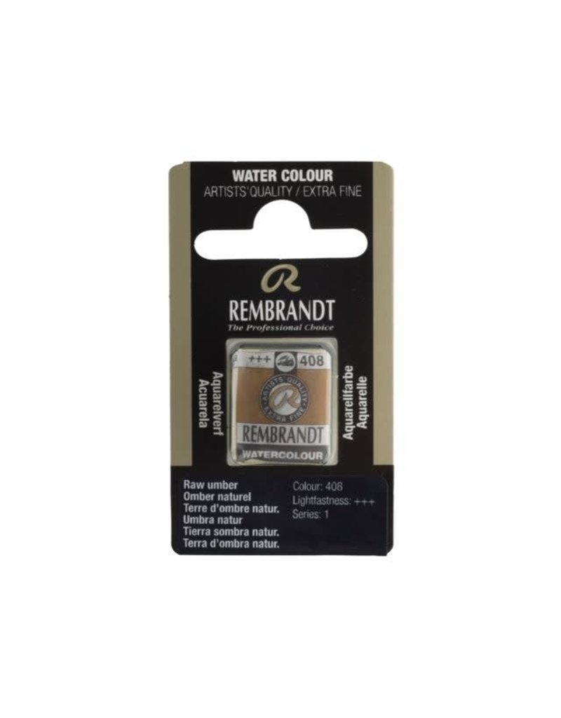 Rembrandt Rembrandt water colour 1/2 pan Raw umber