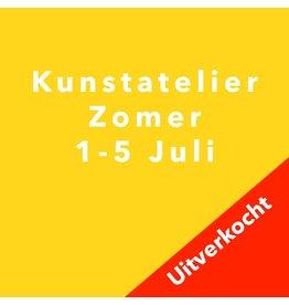 Kunstatelier 1- 5 Juli
